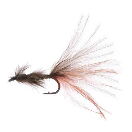 Montana Fly Company Thurman's Zack Attack Damsel Nymph Fly - Dozen in Olive/Burnt Orange - Closeouts