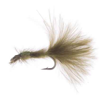 Montana Fly Company Thurman's Zack Attack Damsel Nymph Fly - Dozen in Olive - Closeouts