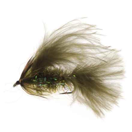 Montana Fly Company Thurmans Zugger Streamer Fly - Dozen in Olive - Closeouts