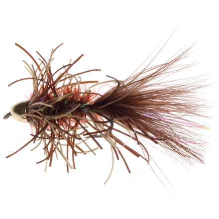 Montana Fly Company Trina's Conehead Bugger Streamer Fly - Dozen in Brown - Closeouts