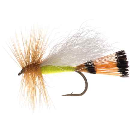 Montana Fly Company Trude Adam's Dry Fly - Dozen in Lime - Closeouts