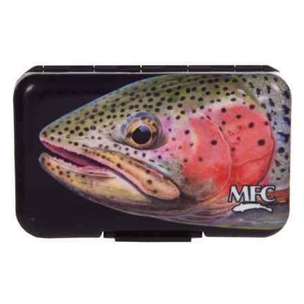 Montana Fly Company West Side Rainbow Poly Fly Box in Rainbow - Closeouts