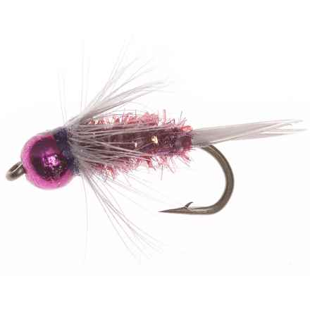 Montana Fly Company Wiese's Lucent Prince Nymph Fly - Dozen in Purple - Closeouts