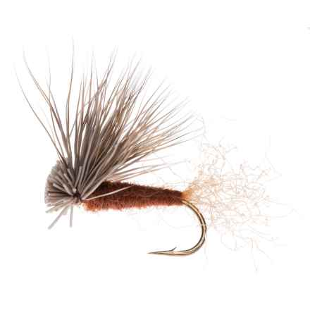 Montana Fly Company X-Caddis Dry Fly - Dozen in Brown - Closeouts