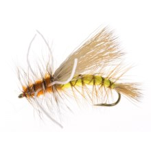 Montana Fly Company X-Stimulator Dry Fly - Dozen in Yellow - Closeouts