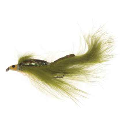 Montana Fly Company Zonker Streamer Fly - Dozen in Olive - Closeouts