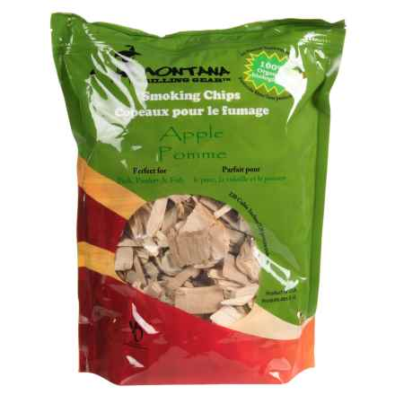Montana Grilling Gear Smoking Wood Chips - 2 lb. in Apple - Closeouts