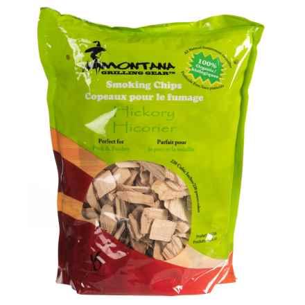 Montana Grilling Gear Smoking Wood Chips - 2 lb. in Hickory - Closeouts