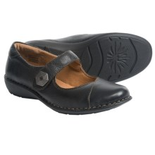 Montana Rosalinda Mary Jane Shoes - Leather (For Women) in Black - Closeouts
