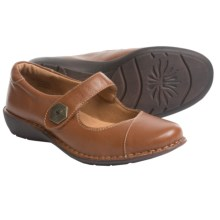 Montana Rosalinda Mary Jane Shoes - Leather (For Women) in Tan - Closeouts