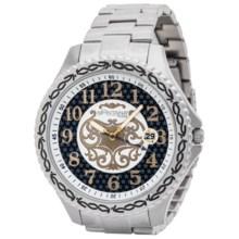 Montana Silversmiths Master Timekeeper Bracelet Watch (For Men) in Black/Silver - Closeouts