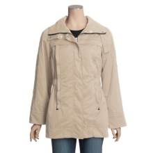 MontanaCo Elastic Waist Jacket - Roll-Up Sleeves (For Women) in Tan - Closeouts