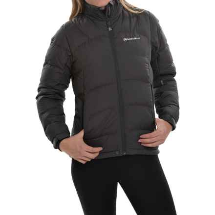 Montane Ambience Down Jacket - 750 Fill Power (For Women) in Phantom Black - Closeouts