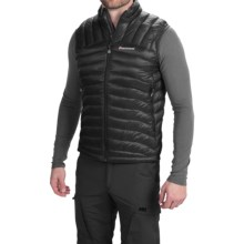 Montane Featherlite Down Vest - 750 Fill Power (For Men) in Black - Closeouts