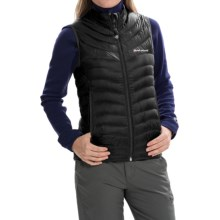 Montane Featherlite Down Vest - 750 Fill Power (For Women) in Black - Closeouts