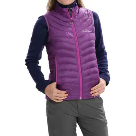 Montane Featherlite Down Vest - 750 Fill Power (For Women) in Dahlia - Closeouts