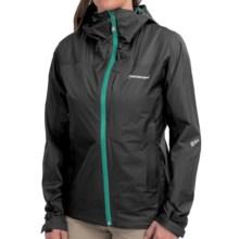Montane Minimus Mountain Pertex® Shield+ Jacket - Waterproof (For Women) in Black - Closeouts