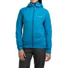 Montane Trailblazer Stretch Hooded Jacket - Waterproof (For Women) in Blue Spark - Closeouts