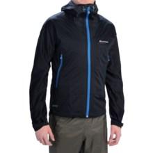 Montane Trailblazer Stretch Soft Shell Jacket - Waterproof (For Men) in Black - Closeouts