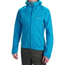 Montane Trailblazer Stretch Soft Shell Jacket - Waterproof (For Men) in Blue Spark - Closeouts