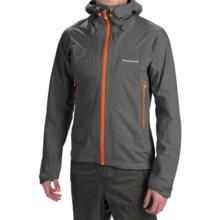 Montane Trailblazer Stretch Soft Shell Jacket - Waterproof (For Men) in Shadow - Closeouts
