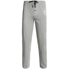 Monte Carlo Polo & Jockey Club Lounge Pants - Cotton Jersey (For Men) in Grey Heather - 2nds