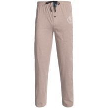 Monte Carlo Polo & Jockey Club Lounge Pants - Cotton Jersey (For Men) in Tan Heather - 2nds