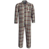Monte Carlo Polo & Jockey Club Plaid Poplin Pajamas - Long Sleeve (For Men)