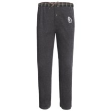 Monte Carlo Polo & Jockey Club Thermal Lounge Pants (For Big Men) in Dark Grey - 2nds