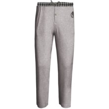 Monte Carlo Polo & Jockey Club Thermal Lounge Pants (For Big Men) in Light Grey - 2nds