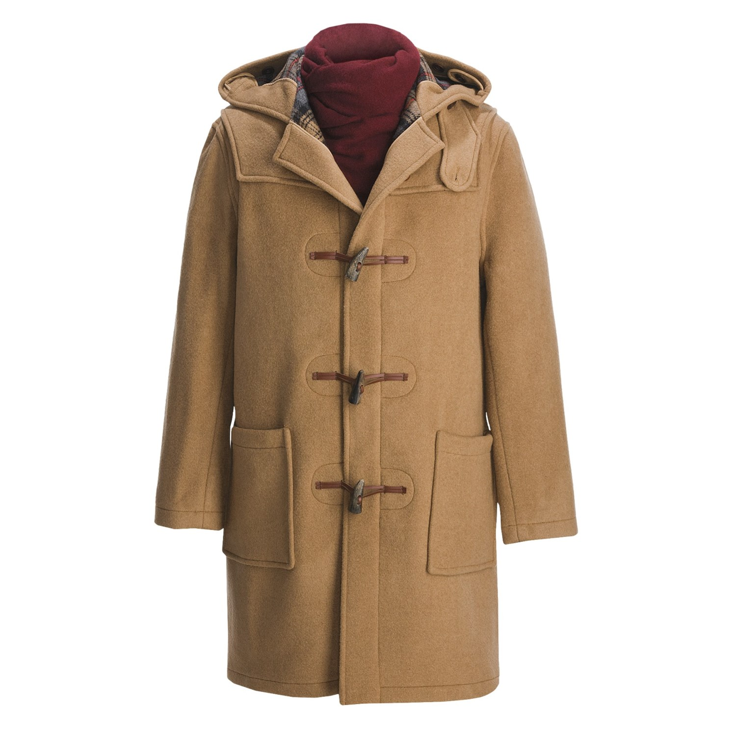 """Tibbett Montgomery Duffle Coat Size 40 Large Tan % Wool England K This item comes from a consignment shop andhas been described in the """"condition"""" section as accurately as possible. if ."""