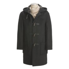 Montgomery by John Partridge Classic Duffle Coat (For Men) in Charcoal - Closeouts