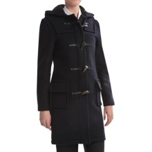 Montgomery by John Partridge Classic Duffle Coat (For Women) in Navy - Closeouts