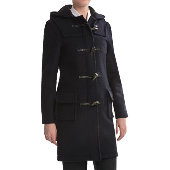 Montgomery by John Partridge Classic Duffle Coat (For Women) in Navy