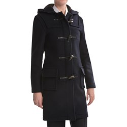 Montgomery by John Partridge Classic Duffle Coat - Wool (For Tall Women) in Camel