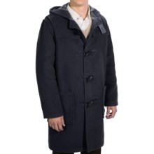 Montgomery by John Partridge Duffle Coat - Classic Fit (For Men) in Navy - Closeouts