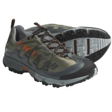Montrail AT Plus Trail Shoes (For Men) in Stone Green/Burnt Orange - Closeouts