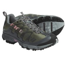 Montrail AT Plus Trail Shoes (For Women) in Stone Green/Pansy Mhw - Closeouts