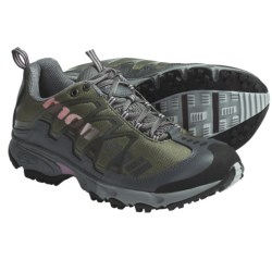 Montrail AT Plus Trail Shoes (For Women) in Stone Green/Pansy Mhw
