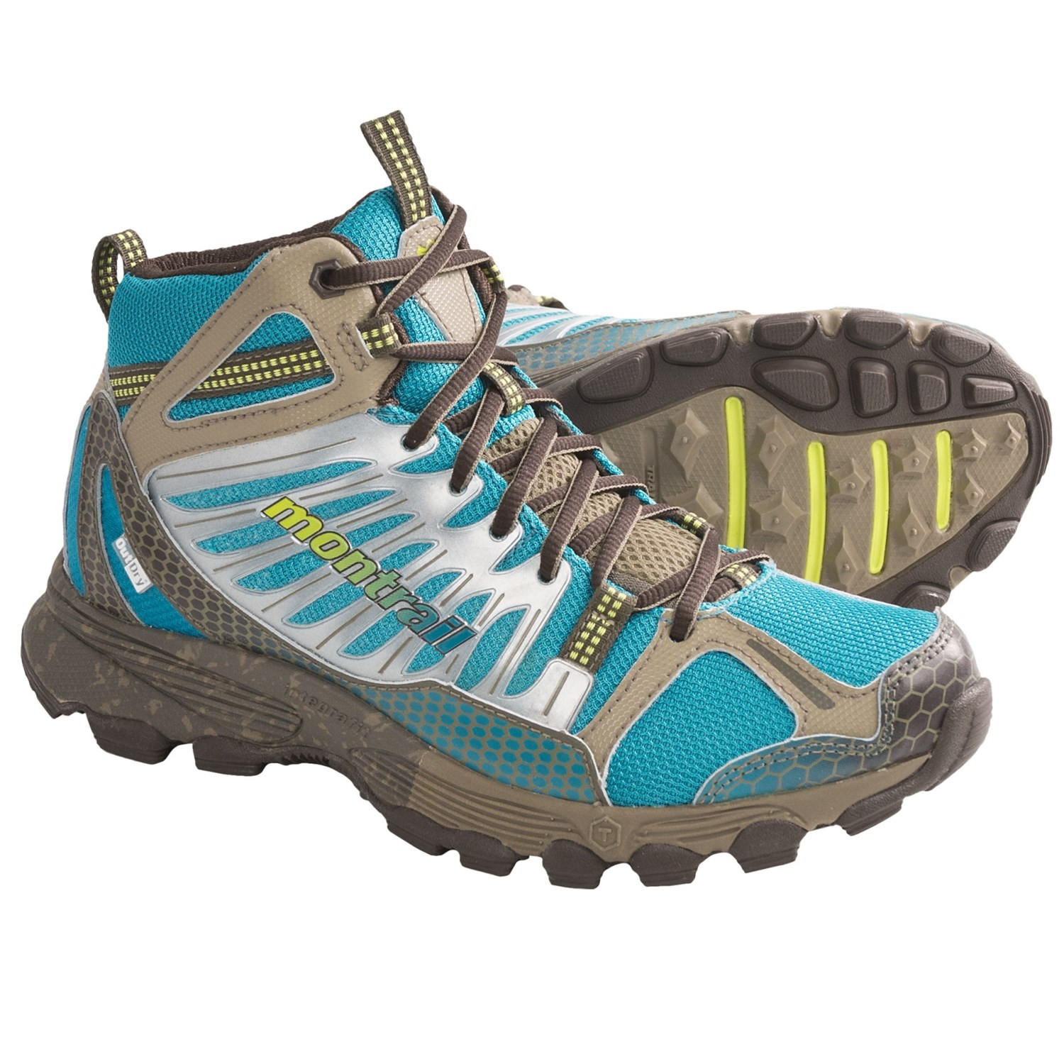 Badrock Mid Trail Running Shoes - OutDry^ Waterproof (For Women