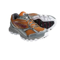 Montrail Badrock Trail Running Shoes (For Women) in Tiger/Berry Soda