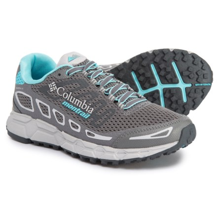 0cc2d2f34423 Montrail Bajada III Trail Running Shoes (For Women) in Ti Grey Steel Coastal