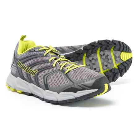 Montrail Caldorado Running Shoes (For Men) in Light Grey/Zour - Closeouts