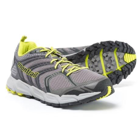 Montrail Caldorado Running Shoes (For Men) in Light Grey/Zour