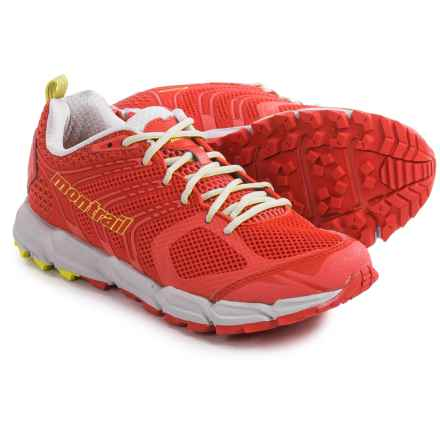 Montrail Caldorado Trail Running Shoes (For Women) in Poppy Red/Zour - Closeouts