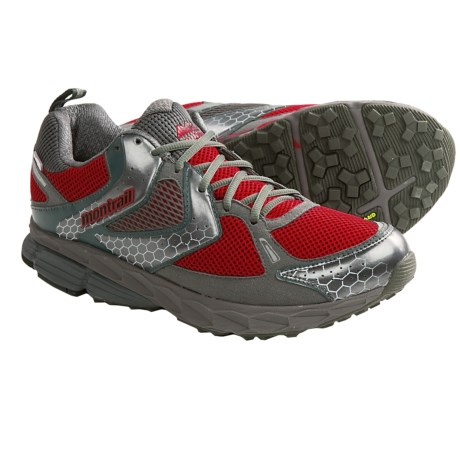 Montrail Fairhaven OutDry® Trail Running Shoes - Waterproof (For Men) in Red/Grill