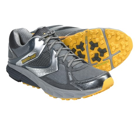 Montrail Fairhaven Trail Running Shoes (For Men) in Stainless/Yellow