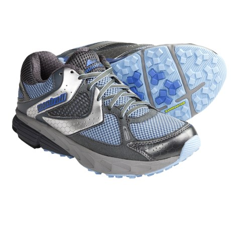 Montrail Fairhaven Trail Running Shoes (For Women) in Air/Fresh Blue