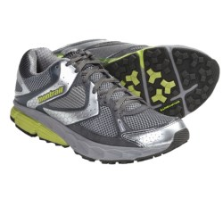 Montrail Fairhaven Trail Running Shoes (For Women) in Stainless/Kiwi