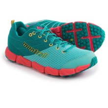 Montrail Fluidflex II Trail Running Shoes (For Women) in Sea Level/Yellow Curry - Closeouts
